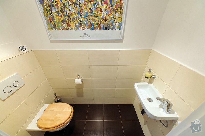Rekonstrukce bytu - Strašnice: WC