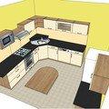 Sklo za kuchyn v41 2