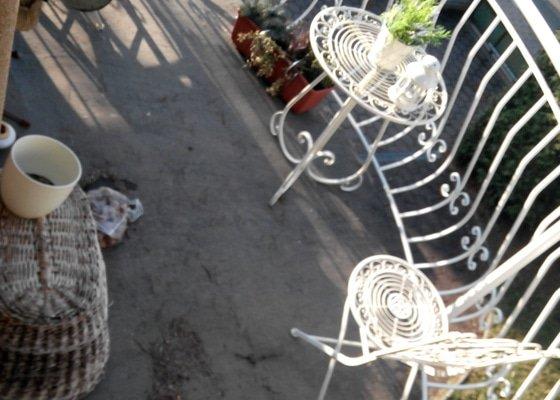 Pokládka dlažby balkon