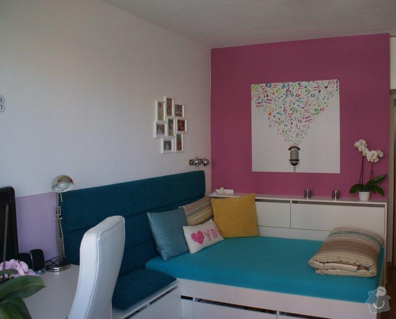Rekonstrukce pokoje pro dceru (18), vozíčkářku: 2a