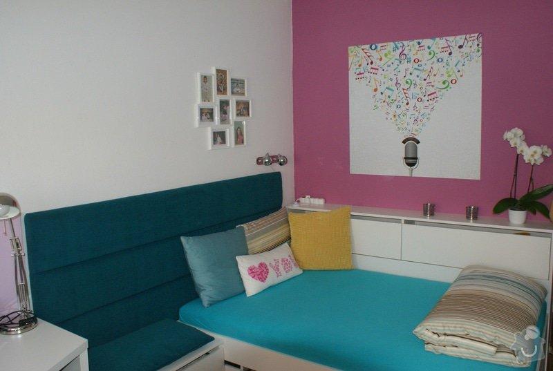 Rekonstrukce pokoje pro dceru (18), vozíčkářku: 3a