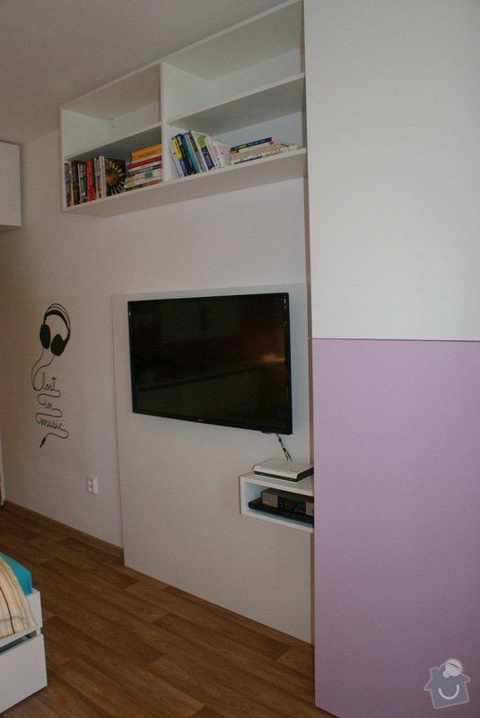 Rekonstrukce pokoje pro dceru (18), vozíčkářku: 6a
