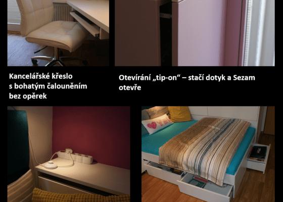 Rekonstrukce pokoje pro dceru (18), vozíčkářku