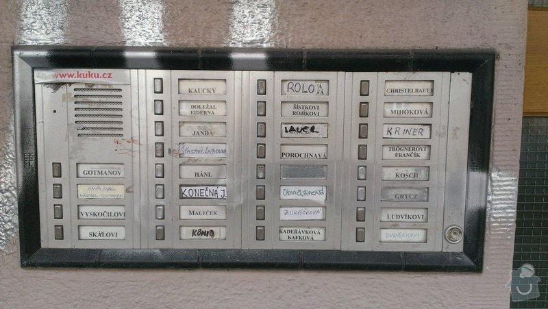 Výměna zvonkového tabla: IMAG0667