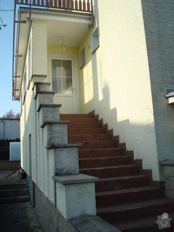 Návrh a provedení zastřešení schodiště: DSC03742