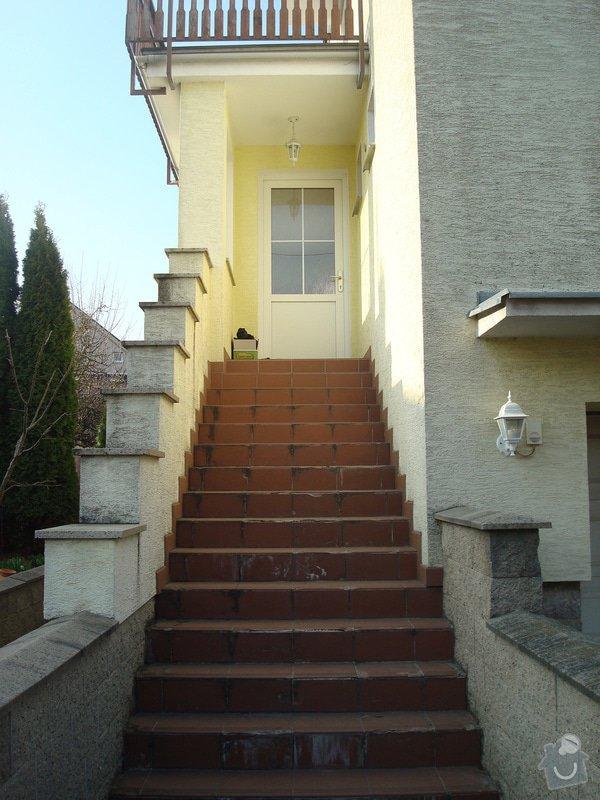Návrh a provedení zastřešení schodiště: DSC03743