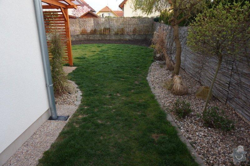 Realizace branky na zahradě: DSC00797