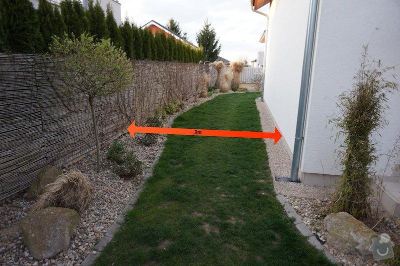Realizace branky na zahradě: DSC00796