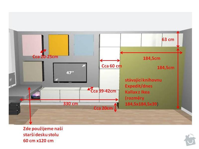 Výroba obývákové stěny na míru: obyvakova_stena