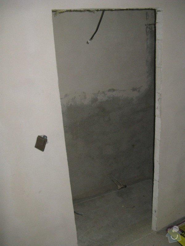 Provedení obkladů koupelna + WC, položení dlažby: IMG_2304-koupelna
