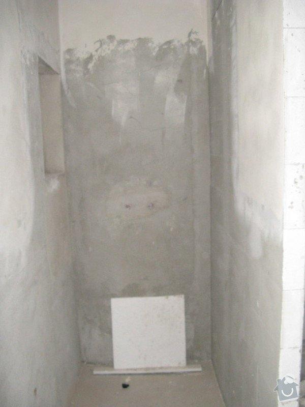 Provedení obkladů koupelna + WC, položení dlažby: IMG_2305-koupelna