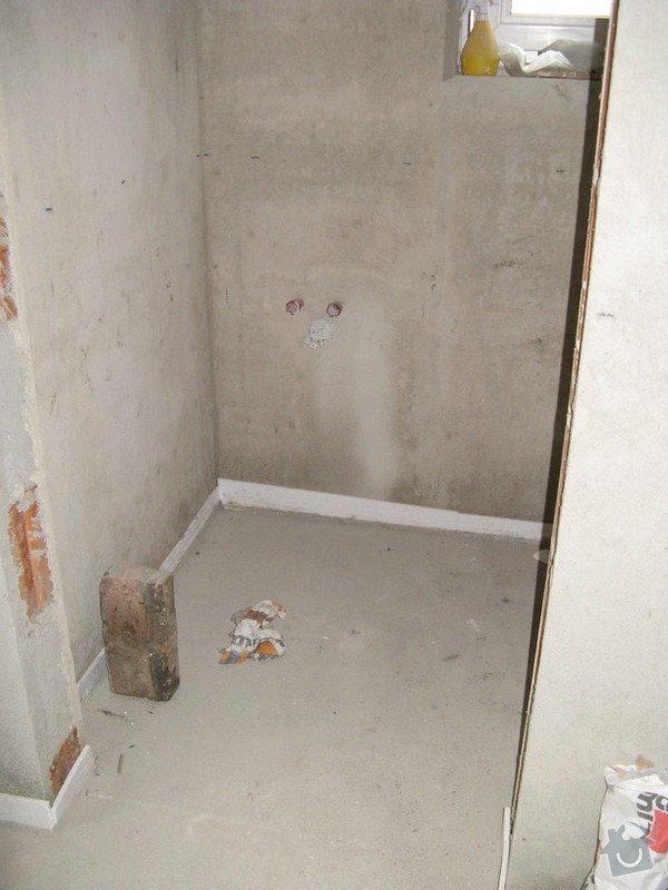 Provedení obkladů koupelna + WC, položení dlažby: IMG_2318-wc