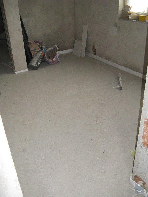 Provedení obkladů koupelna + WC, položení dlažby: IMG_2315-predsin