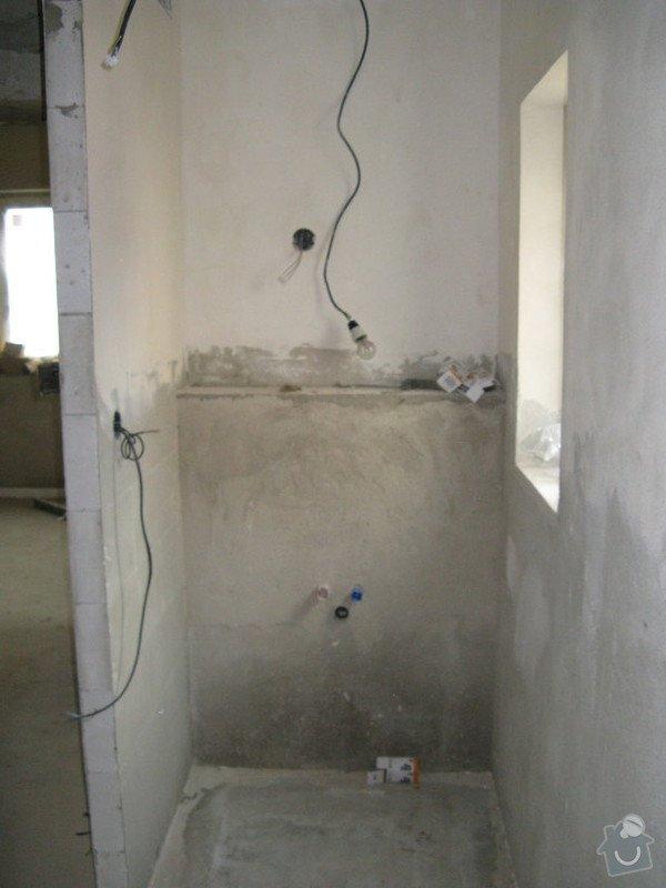 Provedení obkladů koupelna + WC, položení dlažby: IMG_2306-koupelna