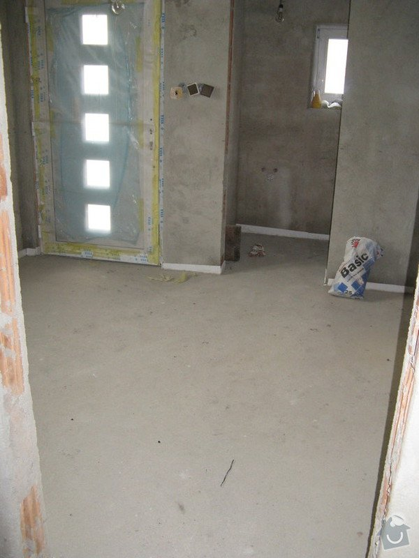 Provedení obkladů koupelna + WC, položení dlažby: IMG_2314-predsin