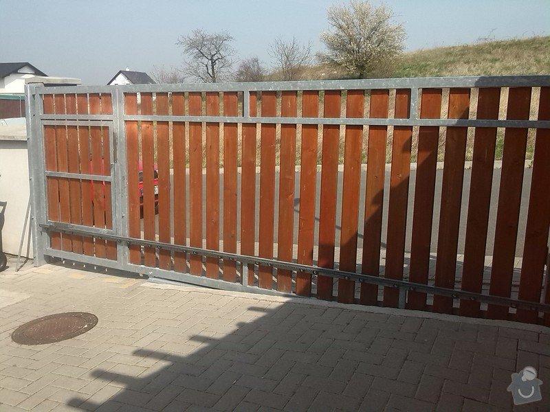 Elektrická posuvná vjezdová brána: IMG_20150411_115444