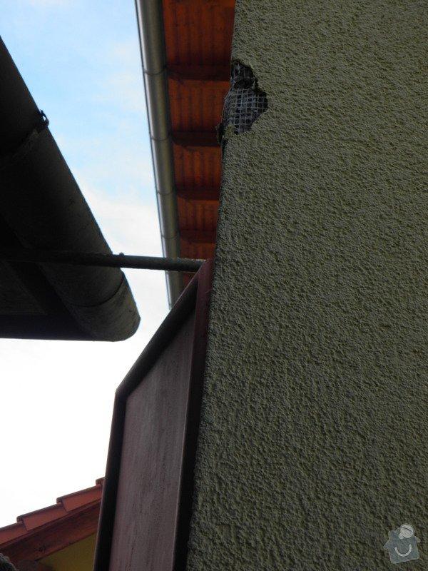 Oprava poškozeného zateplení a fasády cca 6x 10m: P4010273