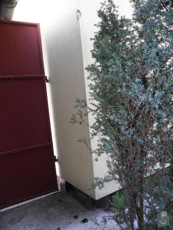 Oprava poškozeného zateplení a fasády cca 6x 10m: P4010277