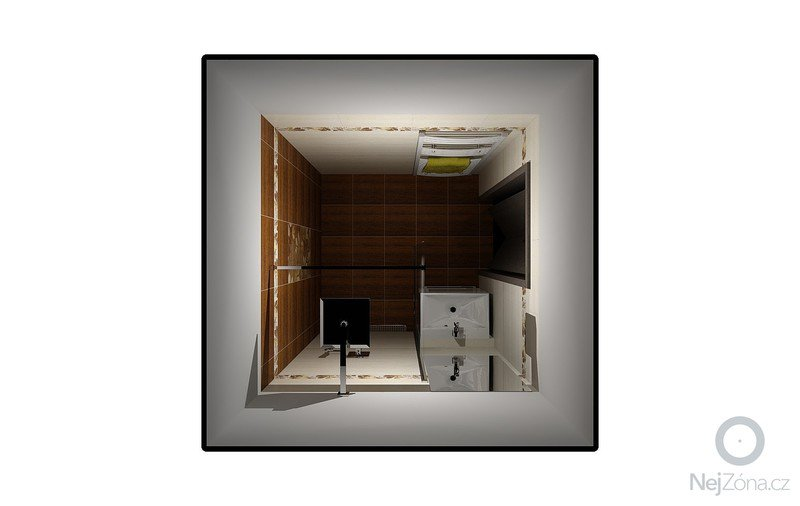 Koupelna Zednické a obkladačské práce: Vizualizace_3