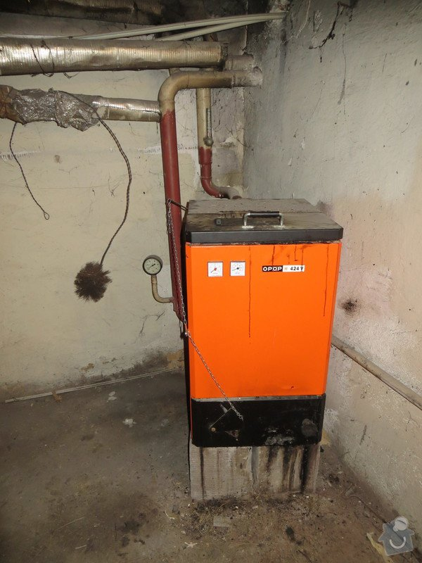 Rozvody topení a vody v Rd Odolena Voda: IMG_5793
