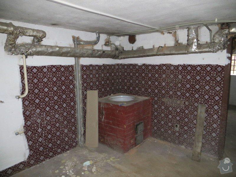 Rozvody topení a vody v Rd Odolena Voda: IMG_5835