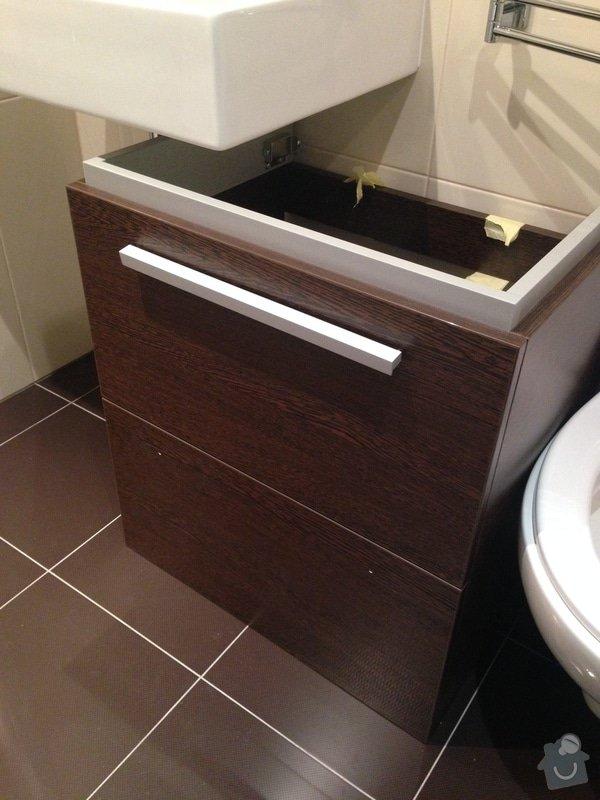 Instalace koupelnove skrinky pod umyvadlo: photo_1