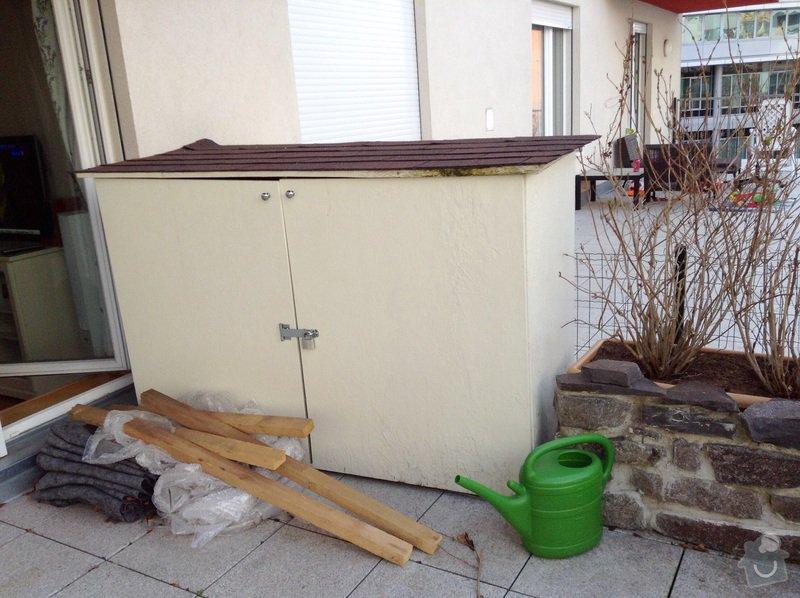 Plastová skříň do terasy: image