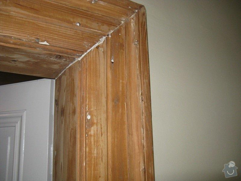 Lakýrnické práce - dřevěné zárubně: Foto1