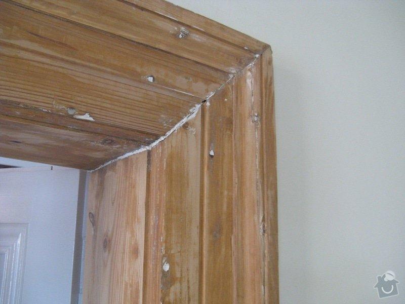 Lakýrnické práce - dřevěné zárubně: Foto2
