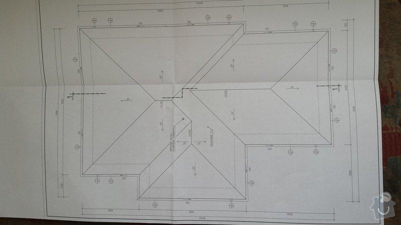 Cennová nabídka na realizaci střechy a krovu: pudorys_strechy
