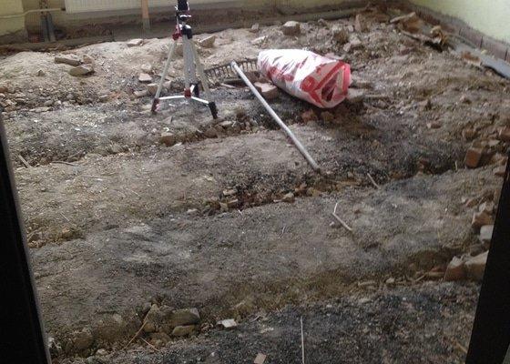 Nahrazení staré dřevěné podlahy