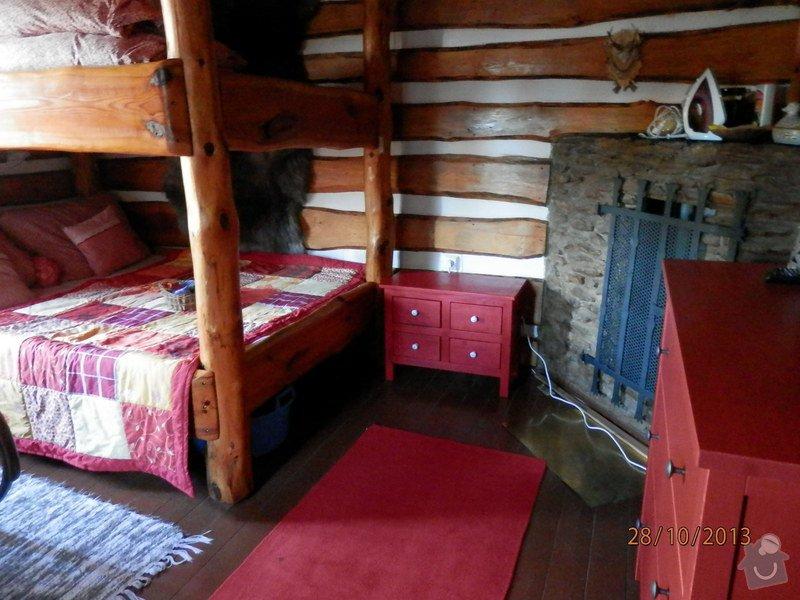 Rekonstrukce stěn dvou místností, pokládka dřevěné podlahy 27 m2: PA280529