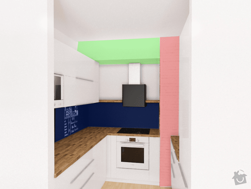 Příprava kuchyně: graf