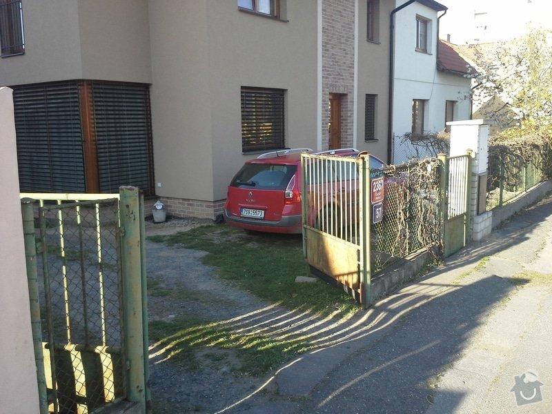 Zhotovení plotu: 20150415_174719