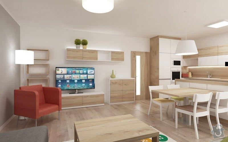 Návrh obývaciho pokoje s kuchyni: Novysedlak06b