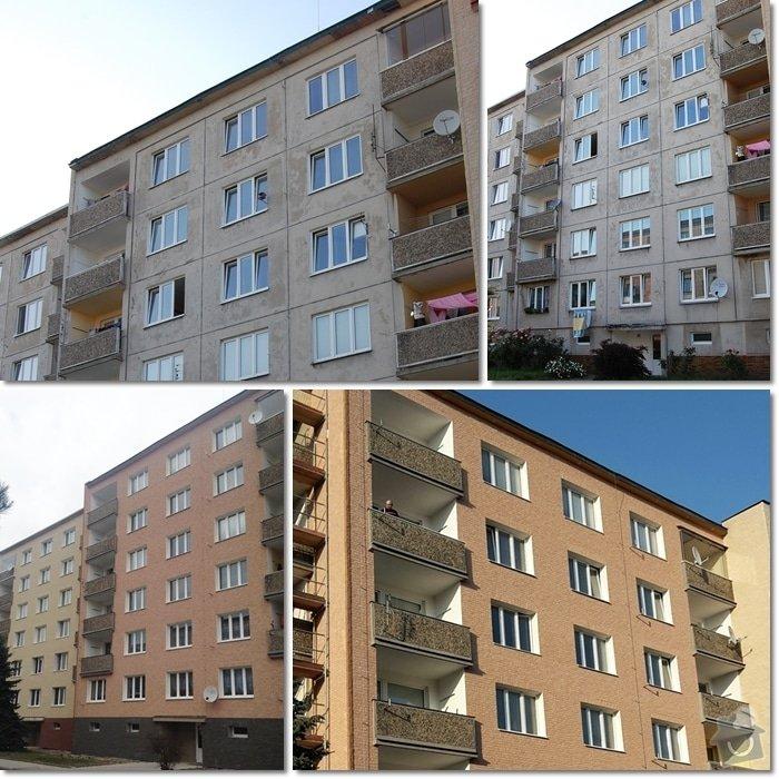 Zateplení a fasáda panelového domu: page