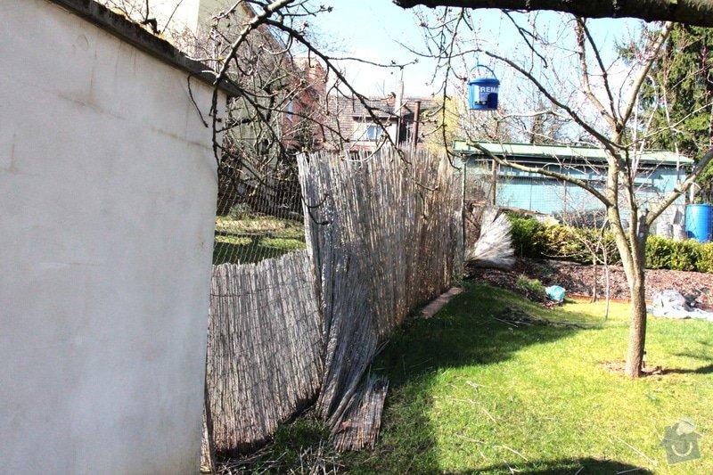 Stavba zdi vč. výkopových prací a materiálu: plot2