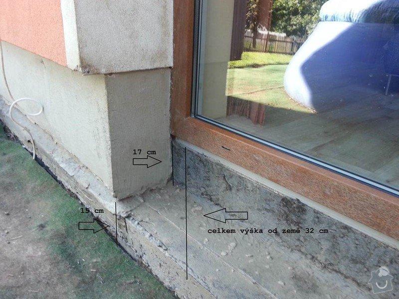 Stavba venkovní terasy: nakres_2