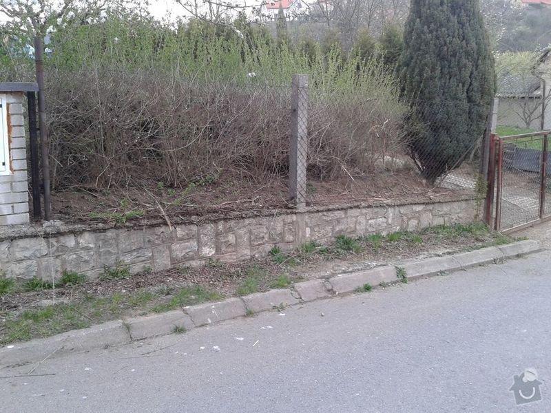 Postavení plotu : 20150416_190151