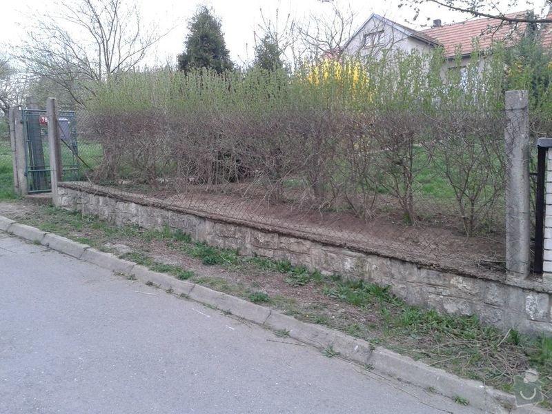 Postavení plotu : 20150416_190201