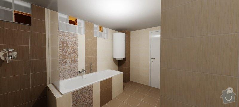Rekontrukce koupelny: 1