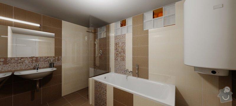 Rekontrukce koupelny: 3