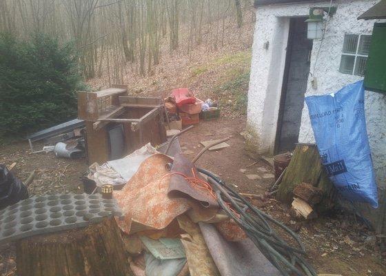 Vyklizení chaty