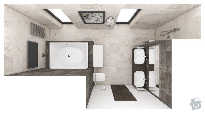 Obložení koupelny: Z_140129_K1_v2_p00
