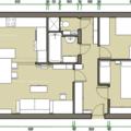 Kompletni rekonstrukce paneloveho bytu 3 1 navrh