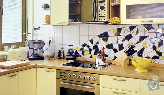 Zhotovení mozaiky nad kuchyňskou linkou: mozaika-12_1_