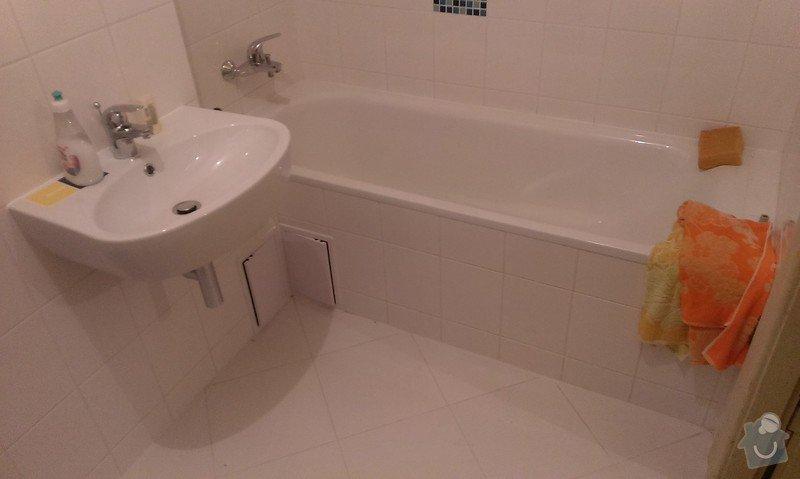 Rekonstrukce koupelny, příprava pro kuchyňský kout: IMAG1440