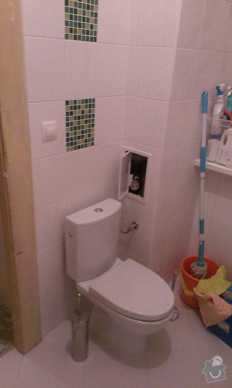 Rekonstrukce koupelny, příprava pro kuchyňský kout: IMAG1444