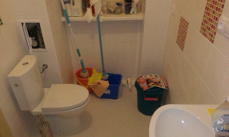 Rekonstrukce koupelny, příprava pro kuchyňský kout: IMAG1446