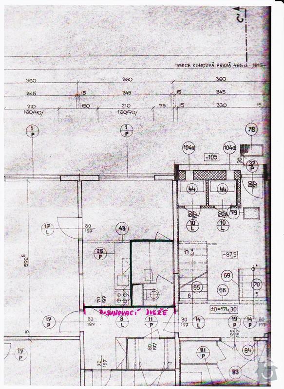 Rekonstrukce bytového jádra: stavebni_vykres_001